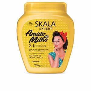 Shiny hair products - Anti frizz hair products - Hair repair conditioner - Detangling conditioner CREMA ACONDICIONADORA amido de milho Skala