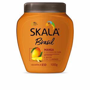 Shiny hair products - Detangling conditioner - Hair repair conditioner CREMA ACONDICIONADORA mango y nuez de brasil Skala
