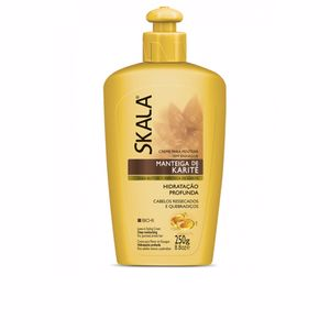 Shiny hair products - Detangling conditioner - Hair repair conditioner CREMA PARA PEINAR karité Skala