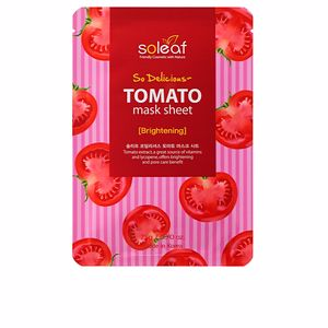 Face mask TOMATO brightening so deliciuos mask sheet Soleaf