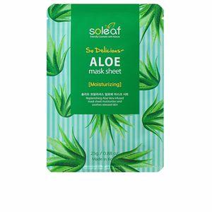 Face mask ALOE moisturizing so delicious mask sheet Soleaf