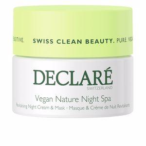 Face moisturizer VEGAN NATURE sensitive night Declaré