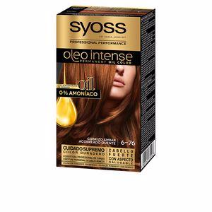 Tintes OLIO INTENSE tinte sin amoniaco #6.76-cobrizo ambar Syoss