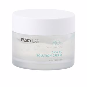 Anti redness treatment cream - Face moisturizer CICA AC solution cream Fascy