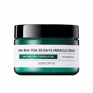 Acne Treatment Cream & blackhead removal AHA-BHA-PHA 30 days miracle cream Some By Mi