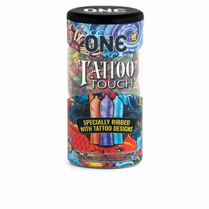 Intimate health product TATTOO TOUCH condoms One