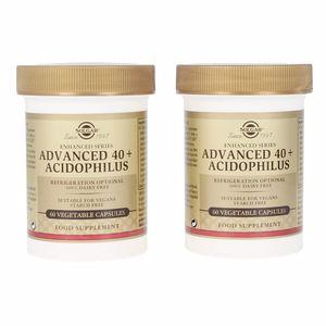 Otros suplementos ADVANCED 40+ACIDOPHILUS cápsulas vegetales Solgar