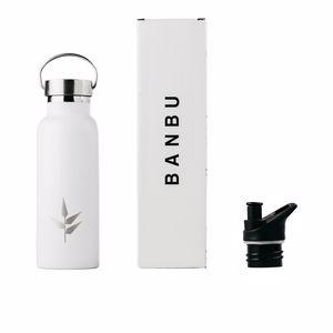 Bottle / Shaker BOTELLA acero inoxidable #blanca Banbu
