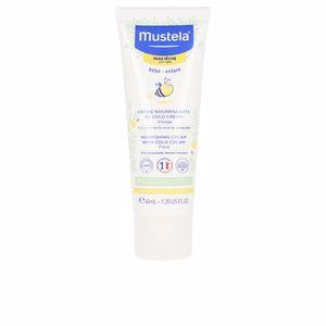 Facial cosmetics for kids BÉBÉ crème nourissante au cold cream peaux sèches Mustela