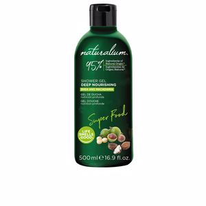 Shower gel SUPER FOOD macadamia nourishing shower gel Naturalium