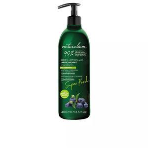 Body moisturiser SUPER FOOD blueberry antioxidant body lotion Naturalium