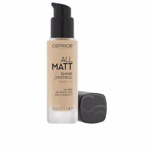Foundation makeup ALL MATT shine control make up Catrice