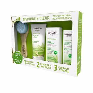 Skincare set NATURALLY CLEAR GEL LIMPIDOR PURIFICANTE SET Weleda