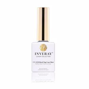 Esmalte de uñas UV/LED HARD top coat mate ultimate glass no wipe Inveray