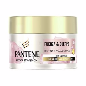 Hair mask for damaged hair MIRACLE VOLUMEN NUTRICION mascarilla Pantene