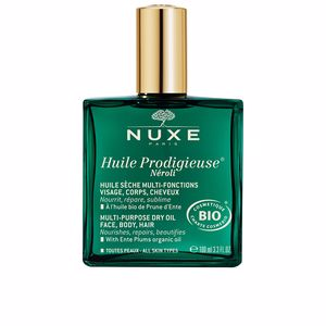 Face moisturizer - Body moisturiser - Hair moisturizer treatment - Hair repair treatment HUILE PRODIGIEUSE® néroli Nuxe