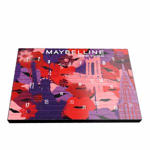 Set de maquillaje - Calendario de adviento MAYBELLINE ADVENT CALENDAR Maybelline