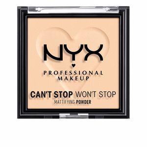 Compact powder CAN´T STOP WON´T STOP mattifying powder Nyx Professional Make Up