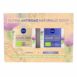 Skincare set NATURALLY GOOD RUTINA FACIAL ANTIEDAD SET Nivea