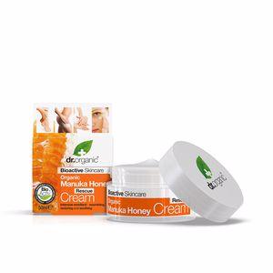 Face moisturizer MIEL DE MANUKA crema de rescate Dr. Organic