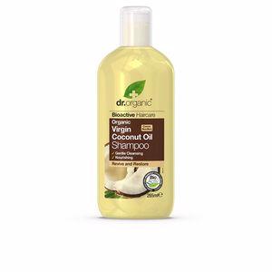 Moisturizing shampoo BIOACTIVE ORGANIC aceite de coco virgen orgánico champú Dr. Organic