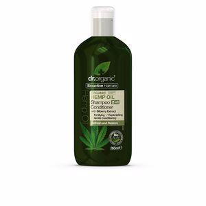 Moisturizing shampoo - Hair repair conditioner BIOACTIVE ORGANIC aceite de cáñamo champú acondicionador Dr. Organic