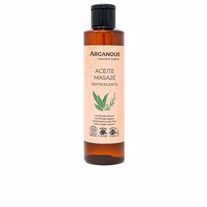Body moisturiser ACEITE MASAJE refrescante Arganour