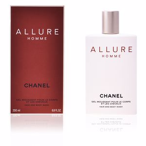 Shower gel ALLURE HOMME hair and body wash Chanel