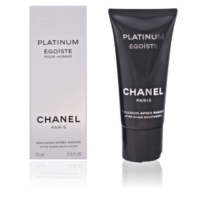 Aftershave ÉGOÏSTE PLATINUM émulsion après rasage Chanel