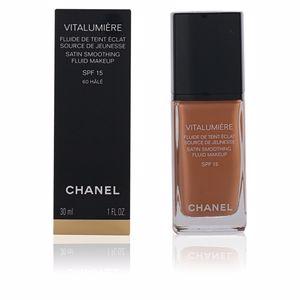 Foundation makeup VITALUMIÈRE fluide de teint éclat SPF15 Chanel
