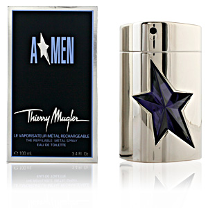 A*MEN edt vaporizador metal refillable 100 ml