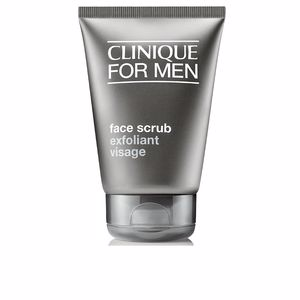 Face scrub - exfoliator MEN face scrub Clinique