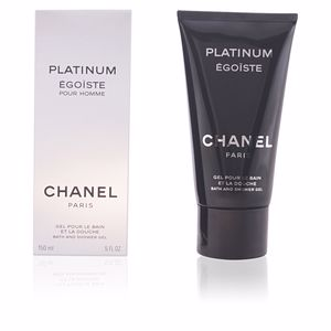 EGOISTE PLATINUM gel de ducha 150 ml