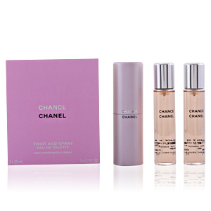 CHANCE eau de toilette spray twist & spray 3 x 20 ml
