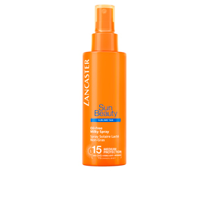 Body SUN BEAUTY oil free milky spray SPF15 Lancaster