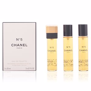 Nº 5 eau de toilette purse spray refills 3 x 20 ml