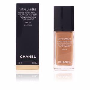 Foundation Make-up VITALUMIÈRE fluide de teint éclat SPF15 Chanel