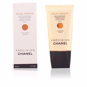 Gesichtsschutz SOLEIL IDENTITÉ soin auto-bronzant visage SPF8 Chanel
