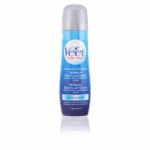 VEET MEN spray depilatorio corporal piel normal 150 ml