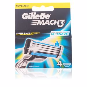 Cuchillas de afeitar MACH 3 recambios Gillette