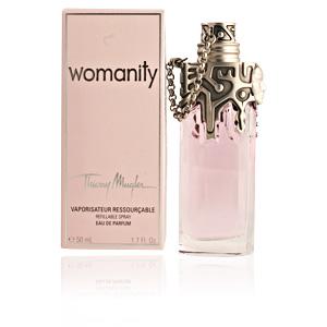 WOMANITY eau de parfum refillable spray 50 ml