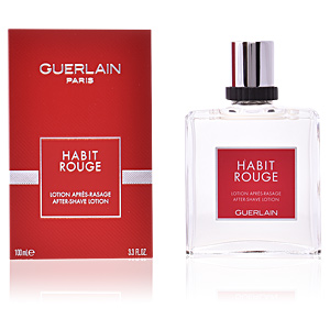 Aftershave HABIT ROUGE lotion après rasage Guerlain