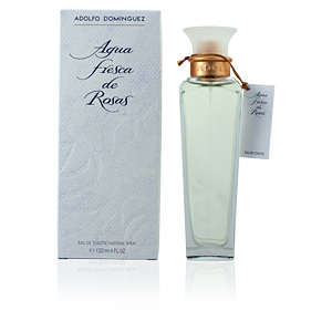 Adolfo Dominguez, AGUA FRESCA DE ROSAS eau de toilette spray 120 ml
