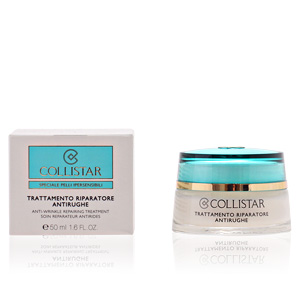Anti redness treatment cream SENSITIVE SKIN anti-wrinkle repairing treatment Collistar