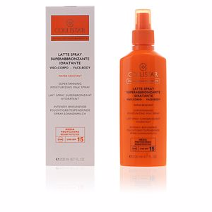 Facial SUPERTANNING moisturizing milk SPF15 spray Collistar