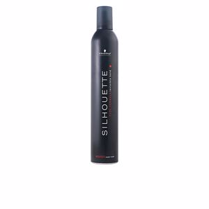 Hair styling product SILHOUETTE super hold mousse Schwarzkopf