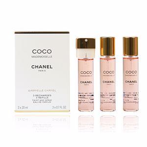 COCO MADEMOISELLE eau de parfum twist & spray 3 recargas x 20 ml