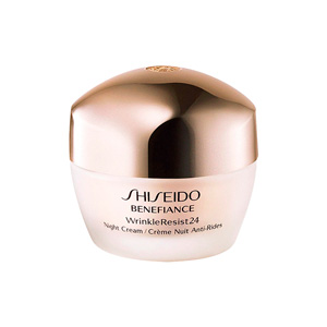Anti-rugas e anti envelhecimento BENEFIANCE WRINKLE RESIST 24 night cream Shiseido