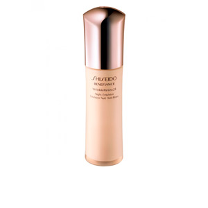 Tratamento antimanchas  BENEFIANCE WRINKLE RESIST 24 night emulsion Shiseido