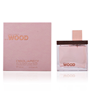SHE WOOD eau de parfum vaporizador 100 ml